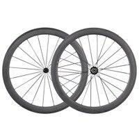 Hot sale 50mm clincher carbon wheels ICAN bike wheel R13 hubs road bike wheels SP 50C