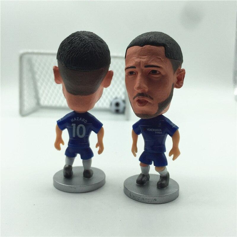 Soccerwe Soccer Star Doll CHE 10#Eden Hazard Figurine Blue Kit 2019 Season