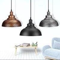 Modern 3 Style Pendant Lights Hanging E27 Edison Bulb Night Lamp Fixture Loft Bar Living Room