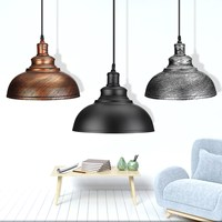Modern 3 Style Pendant Lights Hanging E27 Edison Bulb Night Lamp Fixture Loft Bar Living Room