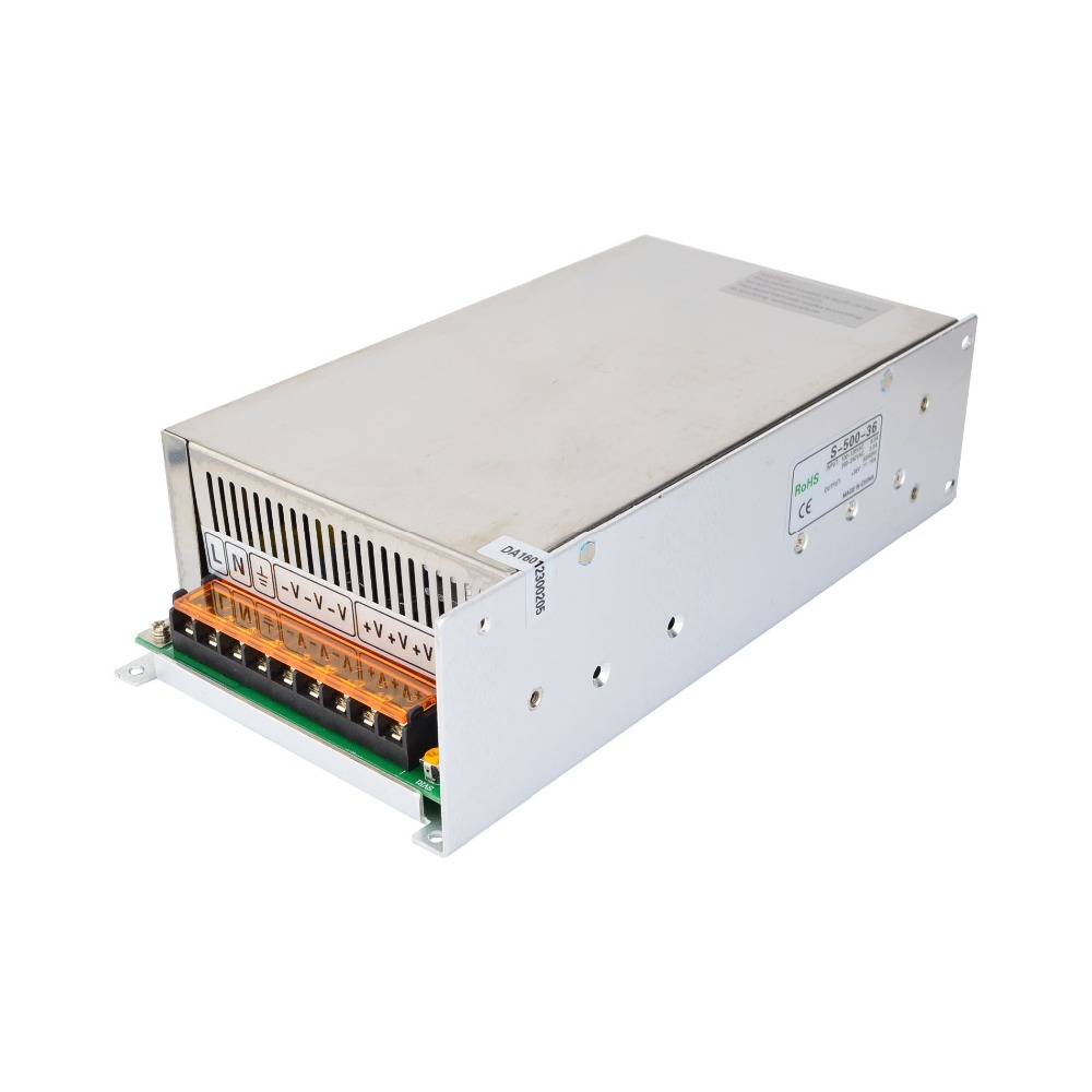 500W 36V 14A 115/230V Switching Power Supply for Stepper Motors/ CNC Router Kits/ 3D Printer dc48v 500w 10 4a switching power supply 115v 230v to stepper motor diy cnc router