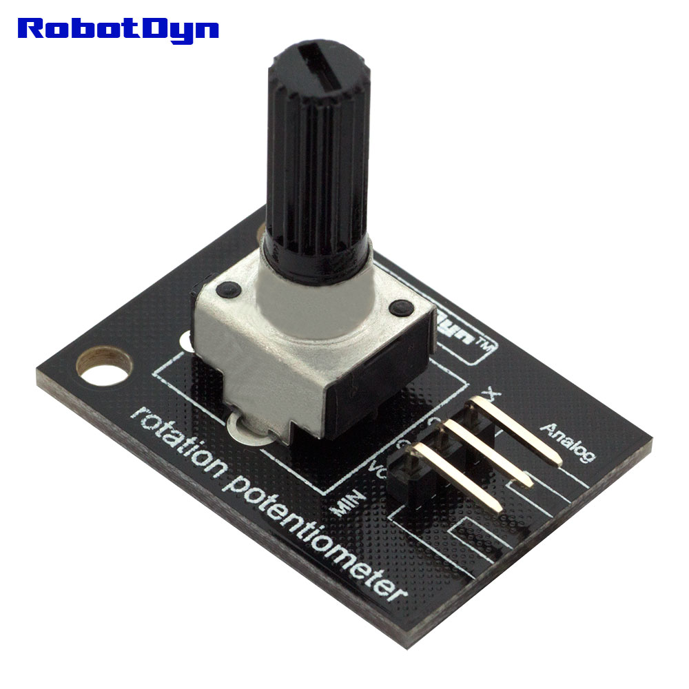 Rotation Potentiometer (analog). 10KOhm