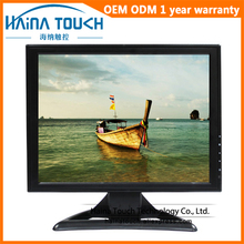 TFT 1024*768 15 inch VGA LCD Monitor, LED Backlight Desktop Computer PC Monitor High Resolution Desktop display