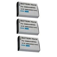 DVISI 3Pcs Lot High Quality Real Capacity 3 7V 900mAh BP 85A BP 85A Replacement Camera