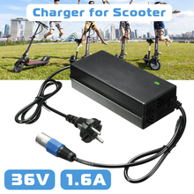 LEORY 36V 1.6A Charger Adapter For Electric Bike 3pin XLR Male Lead Acid Electric Battery Charger For Scooter IZIP I-750 I-1000