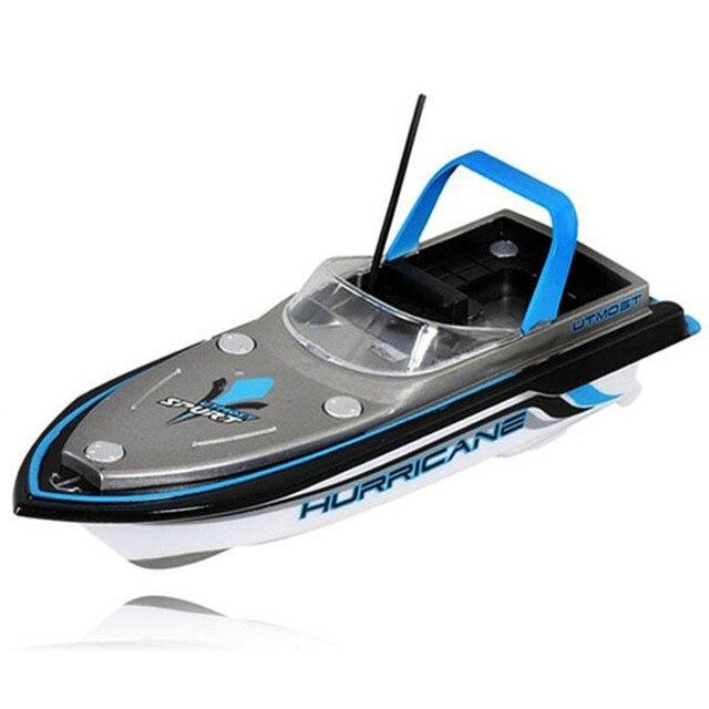 Barco Artificial Nueva Radio Azul Estupendo Teledirigido Mini Speed Boat Dual Motor Kid Toy 218 de Alta Calidad