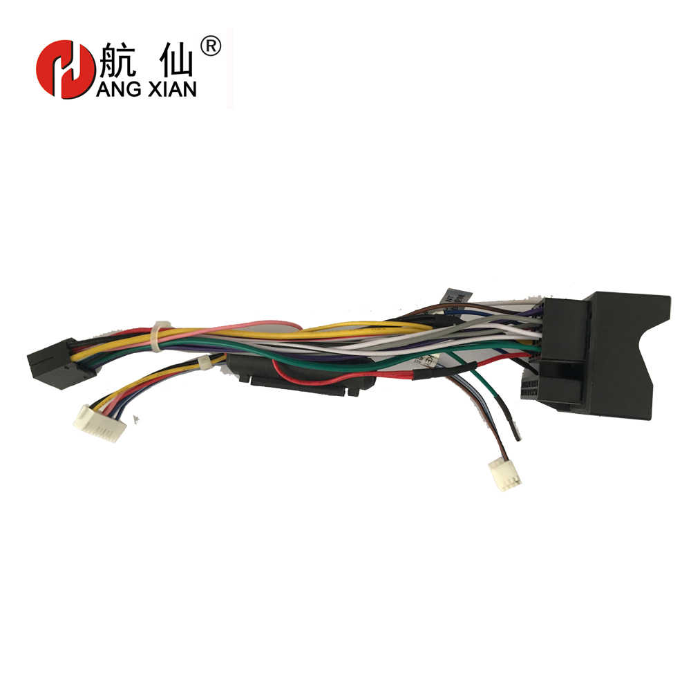 2 din Car Radio Female ISO Radio Plug Power Adapter Wiring Harness Special  for Ford Focus 2005 2011 harness power cable    - AliExpressAliExpress