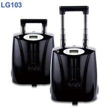 (Hervatten 3 Dagen Verzending) 14 Uur Batterij Tijd Lovego Derde Generatie 7 Liter Draagbare Zuurstofconcentrator