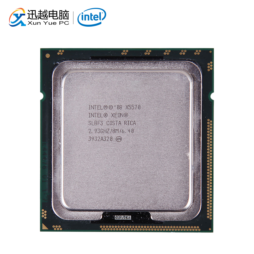 Intel Xeon X5570 Desktop Processor Quad-Core 2.93GHz SLBF3 L3 Cache 8MB LGA 1366 5570 Server Used CPU
