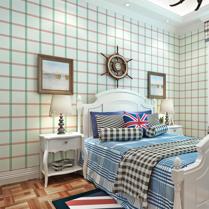 beibehang Lattice minimalist modern living room bedroom ...