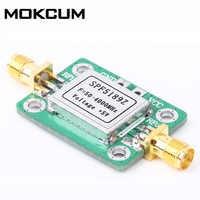 LNA 50-4000 MHz RF Low Noise Amplifier Signal Empfänger SPF5189 NF 0.6dB mit Abschirmung shell LNA RF Verstärker modul