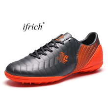 2017 New Sport Football Training Shoes for Men Kids Football Shoes For Sale Kids Sneakers Cheap Turf Trainers Leather Sport Shoe