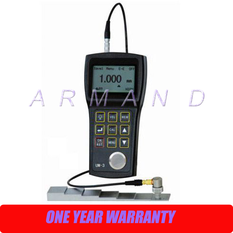 High Precision Ultrasonic Thickness Gauge UM-3 Portable Tester 0.001mm ultra-high resolution