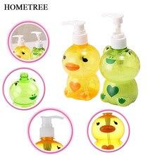 HOMETREE 250ml Creative Shower Gel Shampoo Bottle Pressing Cartoon Sub Loaded Detergent Soap Lotion H574