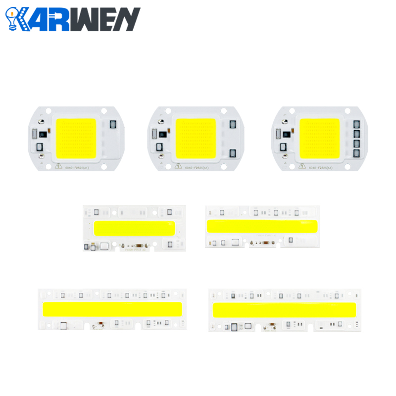 KARWEN LED COB lamp 20W 30W 50W 70 100W YXT Input IP65 110V 220V Smart IC For Outdoor FloodLight