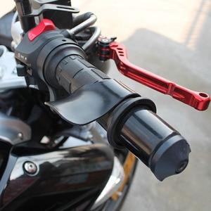 Image 5 - ل kawasaki w800/se z750s ZX 6 ZX9R zxr 400 versys 650 ccbike E Bike قبضة خنق مساعدة المعصم مثبت السرعة تشنج الراحة