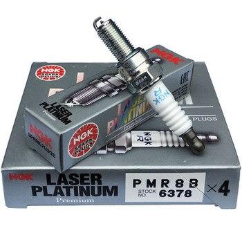 המקורי NGK Teile לייזר כפול פלטינה מצת NGK PMR8B 6378 עבור Fferrari 360 599 אנזו F430 Mmaserati קופה GranSport spyder