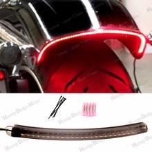 1X LED Fender Running Brake Light W/Turn Signal Smoked Len Kits For Harley 2013-2018 Breakout FXSB CVO