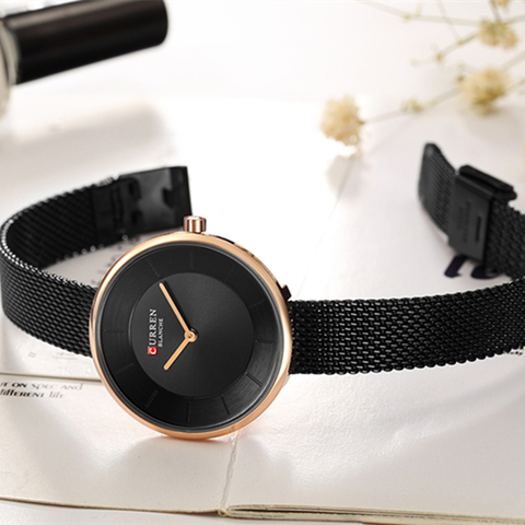 CURREN Women Watches Top Brand Luxury Gold Ladies Watch Stainless Steel Band Classic Dress Bracelet Female Clock Lover Gift 9030 Karachi
