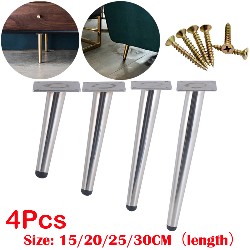 240Pcs Stainless Furniture Table Legs 15CM