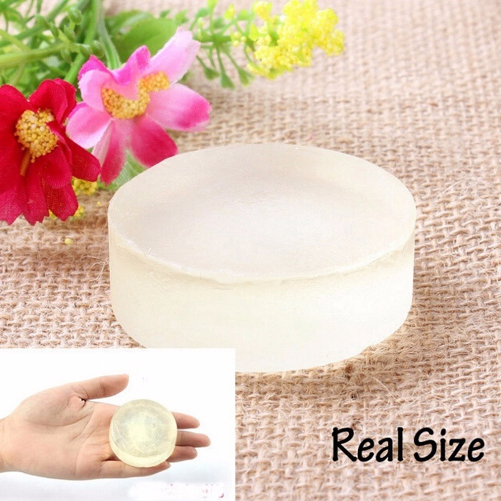 20pcs/lot Handmade Body Skin Whitening Soap Natural Active Crystals For Body Top Good Bath & Shower