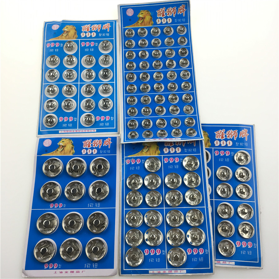 8 10 12 14 16 18mm Small Metal Snap Fasteners Press Button Stud Black White Clothing 8/10/12/14/16/18mm Small Metal Snap Fasteners Press Button Stud Black White Clothing accessories Sewing Embedded buckle