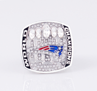Congrats On New England Patriots Super Bowl 2017 Tom Brady New Arrival Championship Ring Size 6