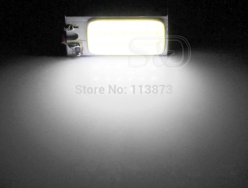 2 шт. 3W COB 18 чип светодиодный светильник для салона автомобиля T10 w5w ba9s t4w Festoon c5w купольный адаптер лампы светодиодный светильник