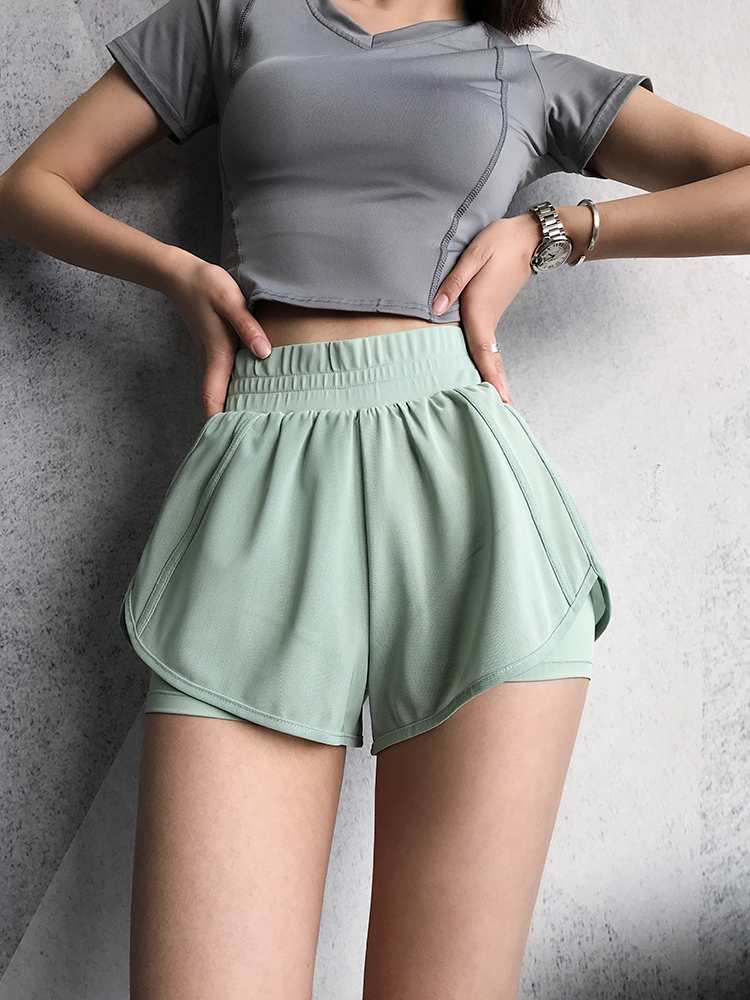 2019 summer tennis badminton skort ladies running sports skirt scurity safety pants skirt solid tennis shorts shirts