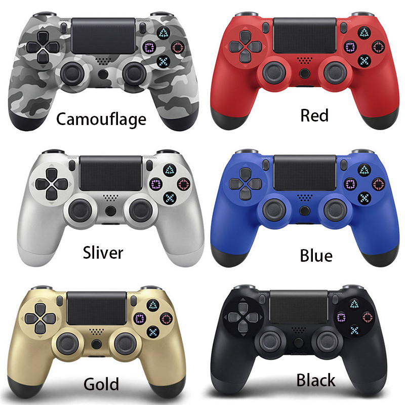 Hot Sale wired / wireless bluetooth Game controller for PS4 Controller Joystick Gamepads for PlayStation 4 Console
