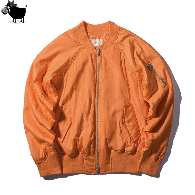 Homme Si Tun célèbre marque hommes Bomber haute qualité vestes Siver gris et Orange vol surdimensionné Outwear manteaux Streetwear veste
