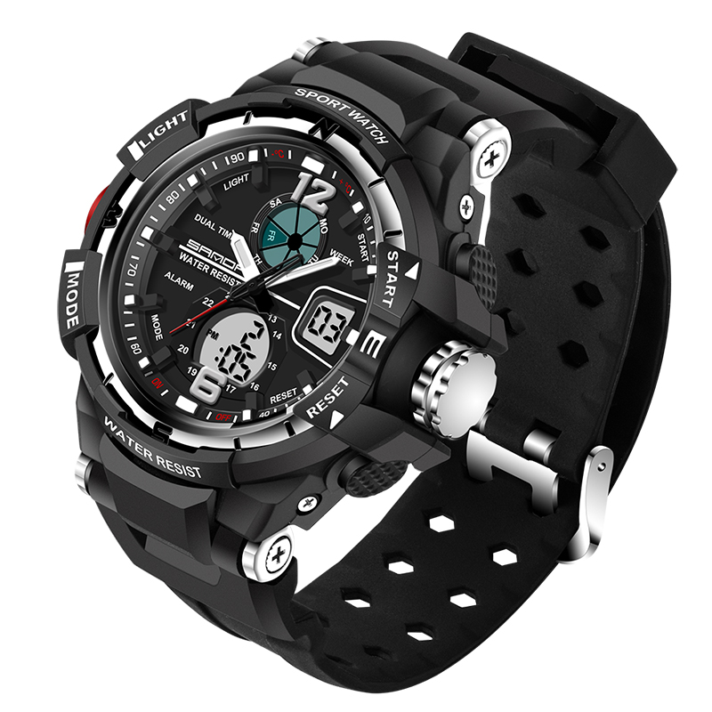 Watches Humorous 2018 New Top Brand Casual Watch Men G Style Waterproof Sports Military Watches S Shock Mens Luxury Analog Digital Quartz Watch Men's Watches