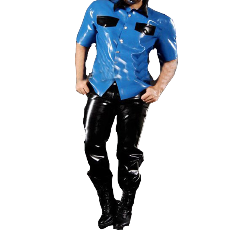 100/% Latex Rubber Jacket 0,8mm Heavy Catsuit With Belts Uniform Body Deluxe