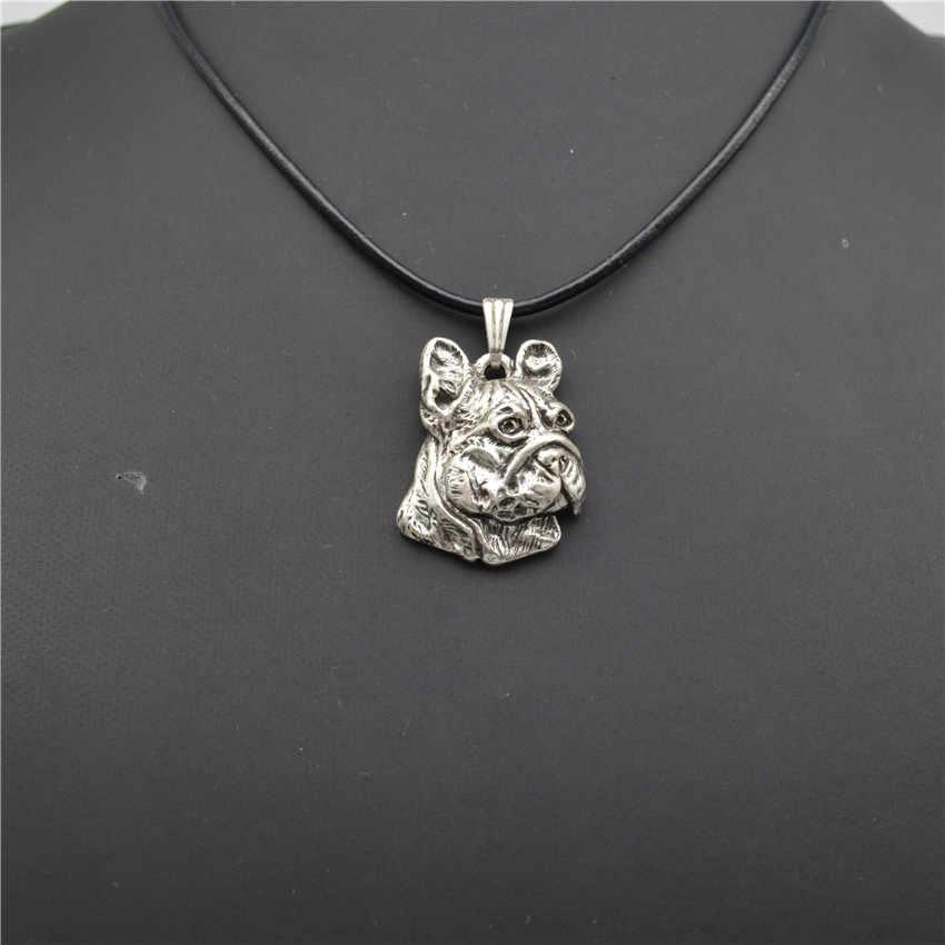 Trendy French Bulldog pendant necklace women dog jewelry statement necklace men cs go online shopping india