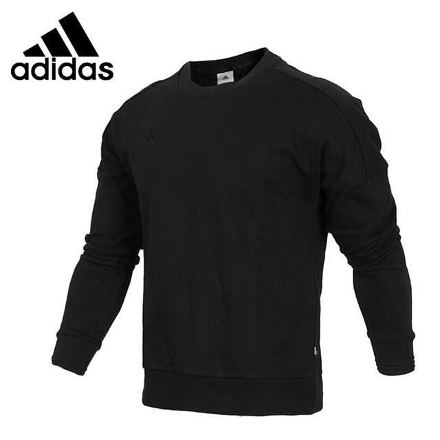 Оригинальный Новое поступление 2018 Adidas TAN SWT экипажа Для мужчин пуловер Майки Спортивная
