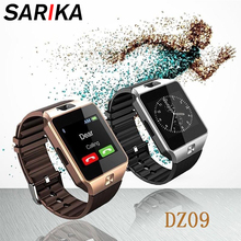 Sarika DZ09 умные часы Bluetooth Smartwatch поддержка Relogio 2 г sim-карта для samsung Xiaomi Android наручное украшение мужские умные часы