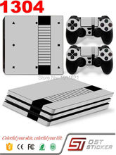OSTSTICKER Skin Stickers For PS4 Pro Console 2 Pcs Controller Vinyl Decal Skin Stickers For PS4 Pro Console Gamepad