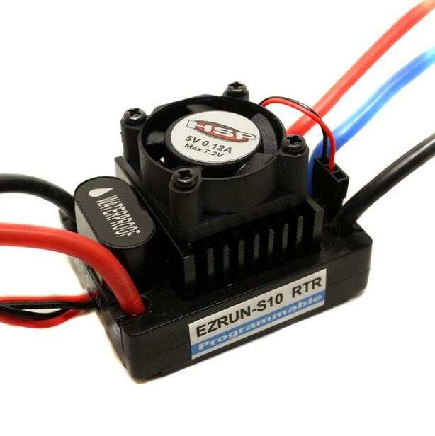 RC 1:10 Car Buggy Truck Waterproof ESC 60A Brushless Sensorless WP-60A For HSP 3650 3900kv 4p sensorless brushless motor 60a brushless elec speed controller esc w 5 8v 3a switch mode bec for 1 10 rc car