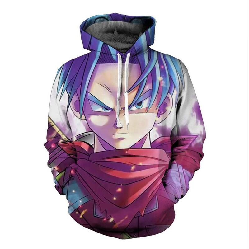 New Autumn blouses Long Sleeve Fashion Hoodies Men Women Dragon Ball Z Print 3D Sweatshirt Cartoon pullovers Homme Tops