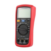 Digital Multimeter UNIT DC/AC Voltage Current Meter Handheld Ammeter Ohm Diode Capacitance Tester 4000 Counts Multitester