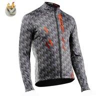 Nouveau 2019 Northwave hiver thermique polaire Jersey Pro équipe NW cyclisme vestes vélo cyclisme chaud vtt vélo Sport vêtements