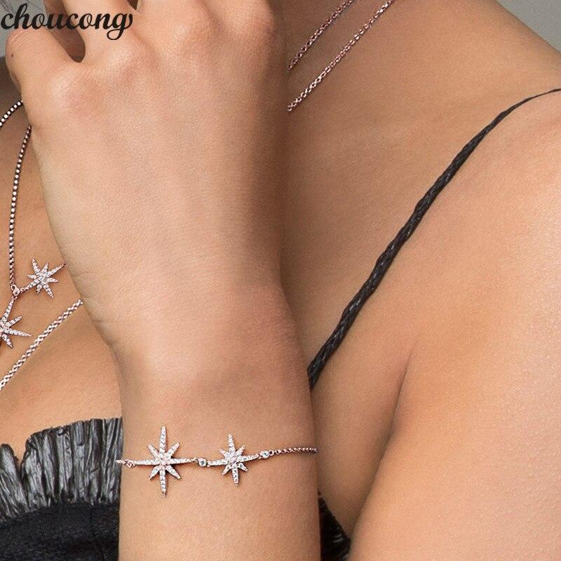 Star Bracelet Real 925...