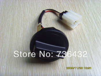 Free shipping! Excavator throttle knob dial knob switch apply to Komatsu excavator PC-6  PC200-6 knob