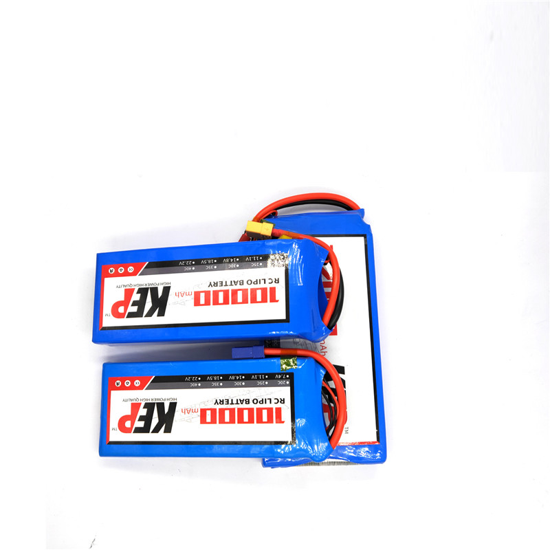 Hight Power RC Lipo Battery 2S 3S 4S 5S 6S 7.4V 11.1V 14.8V 18.5V 22.2V 10000mAh 25C For RC Helicopter Car Eppo machine image
