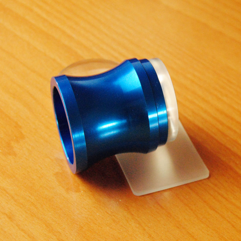 Жаңа 3.8cm Металл Blue Nail Art Stamper XL Clear Jelly - Маникюр - фото 3
