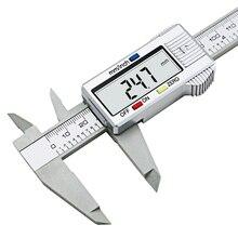 Sale 6inch LCD 150mm Digital Electronic Carbon Fiber Vernier Caliper Gauge Micrometer Model Digital Calipers tool