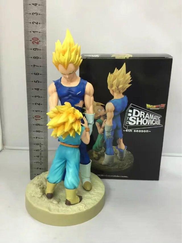 New Vegeta & Trunks Figurine Comic Anime Dragon Ball Z Dramatic Showcase 4th Figure  figurine