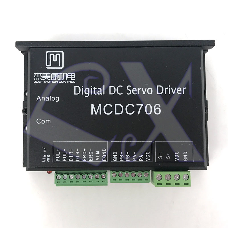 JMC MCDC706 All Digital DC Servo Driver 24 50VDC optocoupler isolated servo reset input interface ERC-in Motor Driver from Home Improvement    1