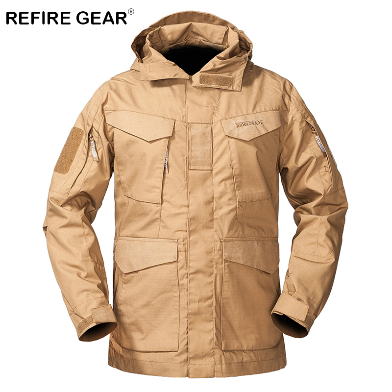 Sports & Entertainment Camping & Hiking M65 Army Clothes Tactical Windbreaker Men Winter Autumn Jacket Windproof Hiking Camping Jackets Hunting Airsoft Clothes