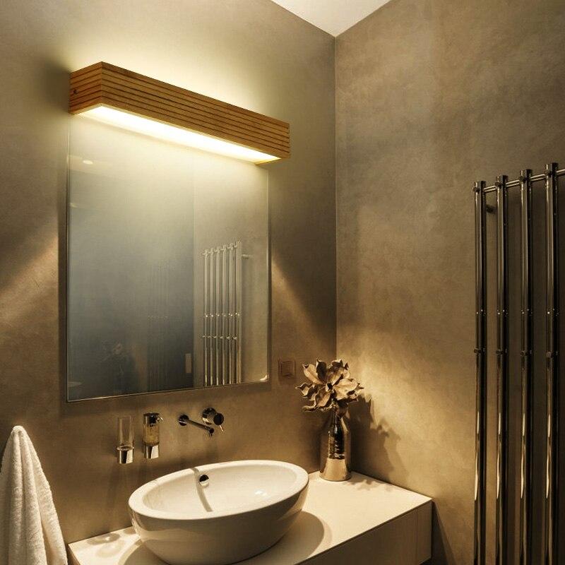 Простые однотонные Настенные светильники ночники бра светодиодный современная ванная комната, кабинет, ванная комната зеркало свет креати...